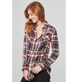 BB Dakota Sylvia Plaid Button Up