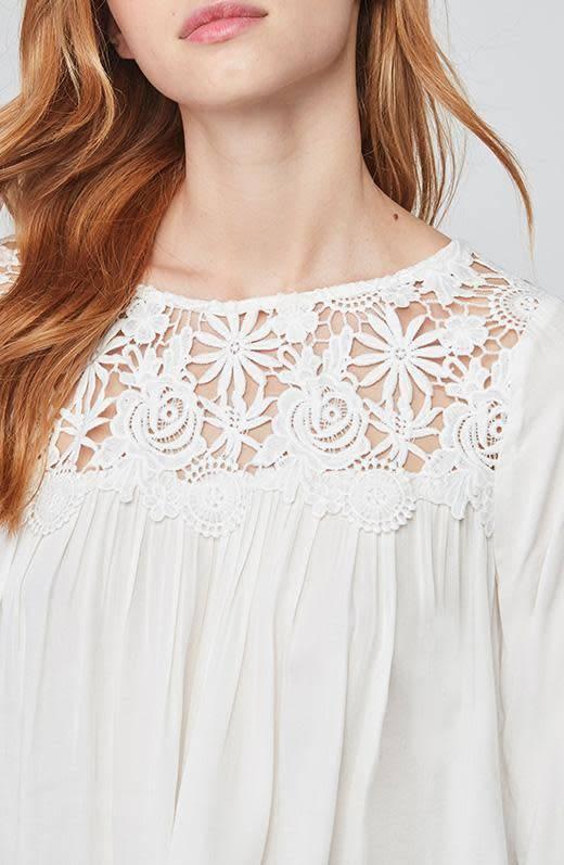 BB Dakota Zanna Lace Long Sleeve Top
