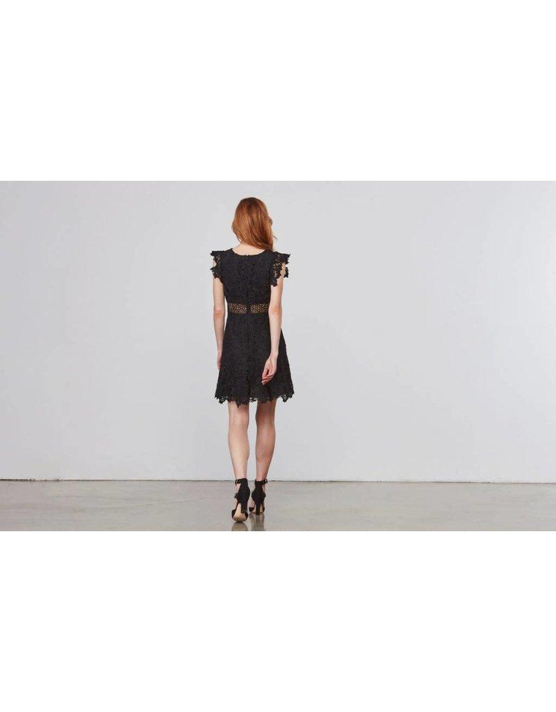 BB Dakota Calvin Scalloped Lace Dress