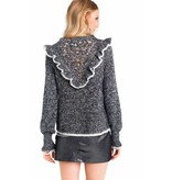 Wildfox Couture Black Alter Sweater