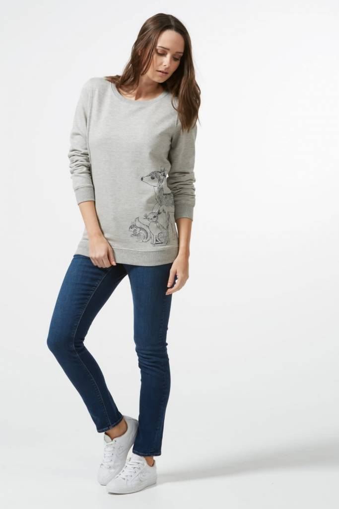 Sugarhill Brighton Alanis Woodland Animal Sweatshirt