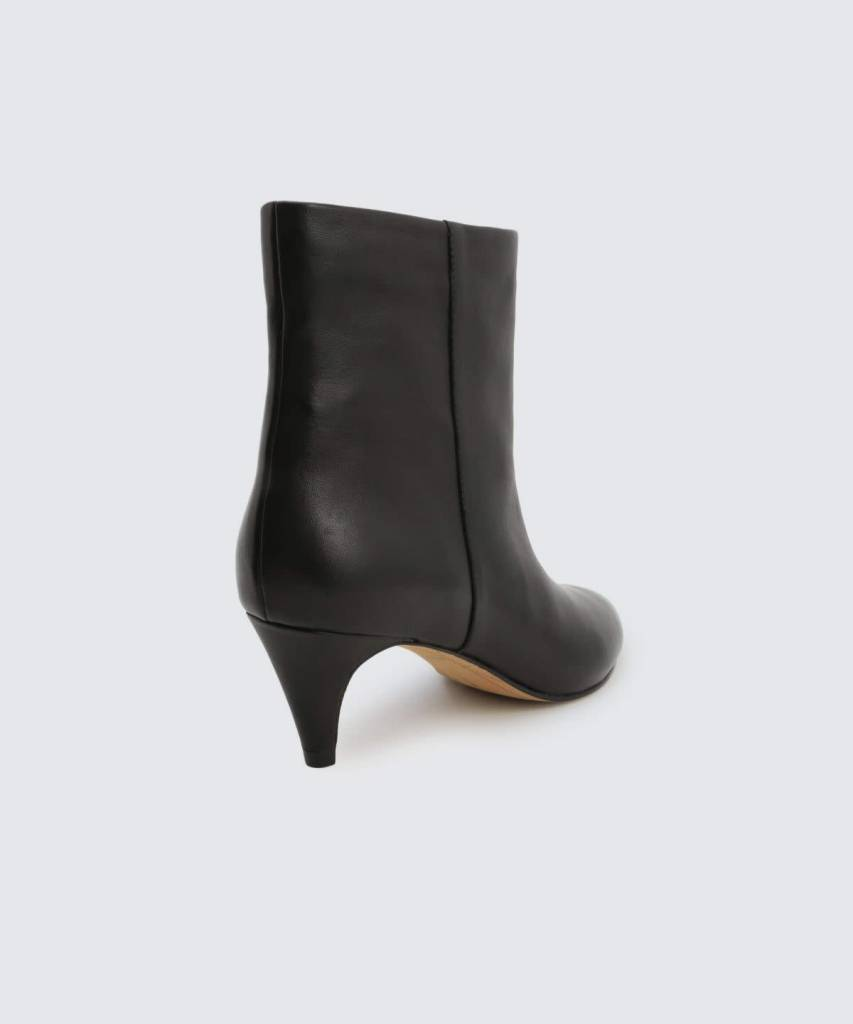 Dolce Vita Dee Onyx Leather Bootie