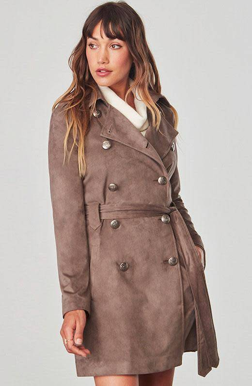 Jack by BB Dakota Baldwin Trench Coat
