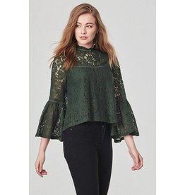 Jack by BB Dakota Miley Bell Sleeve Lace Top