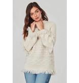 BB Dakota Baker Bell Sleeve Sweater