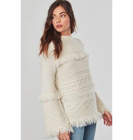 BB Dakota Baker Bell Sleeve Sweater