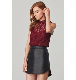 BB Dakota Patti Lace Blouse