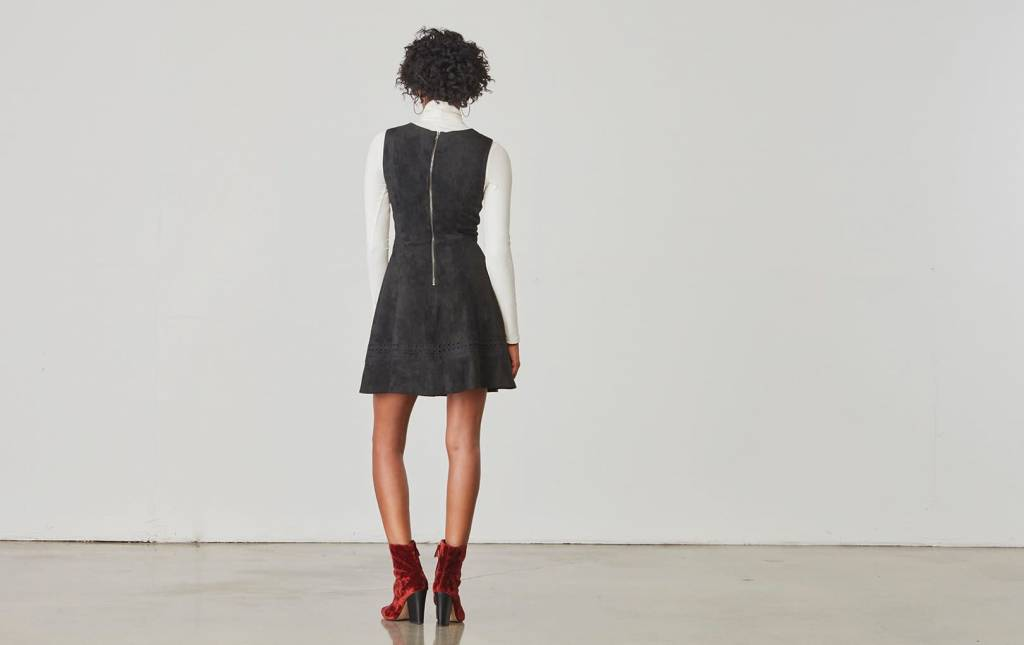 BB Dakota Lynne  Faux Suede Dress