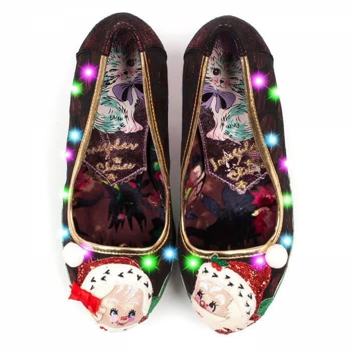 Super Irregular Choice Mr & Mrs Clause - The Shoe Attic BL47