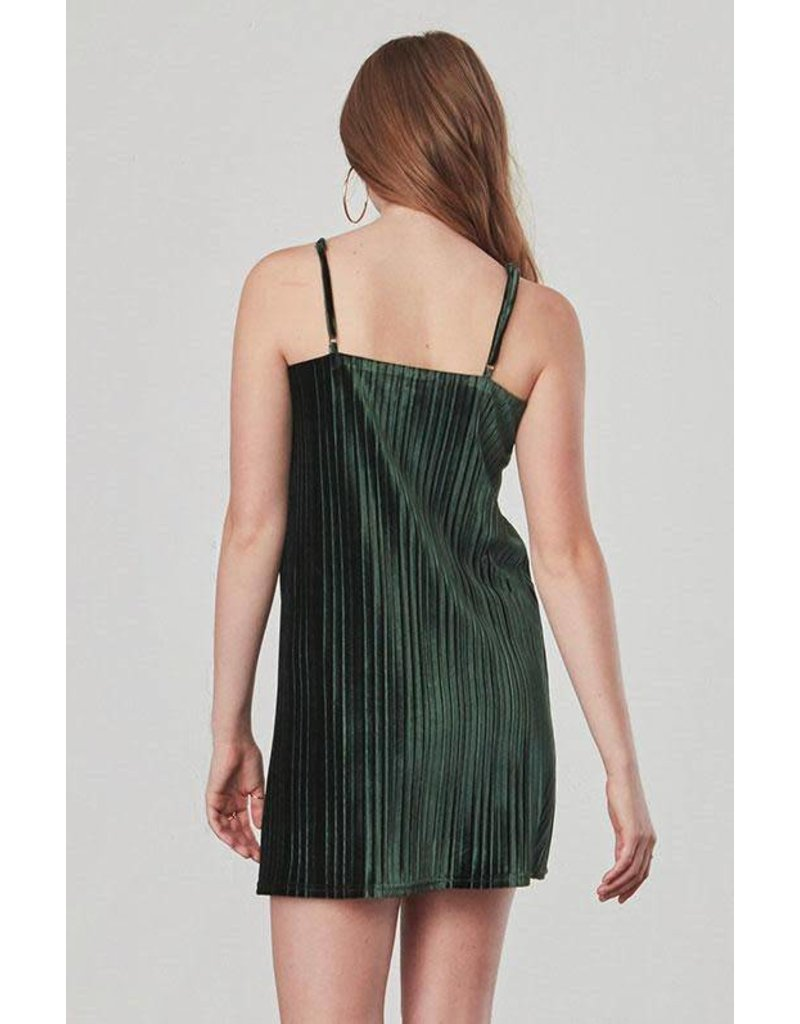 Jack by BB Dakota Rickie Velvet Slip Dress