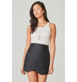 Jack by BB Dakota Angeline Vegan Leather Skirt
