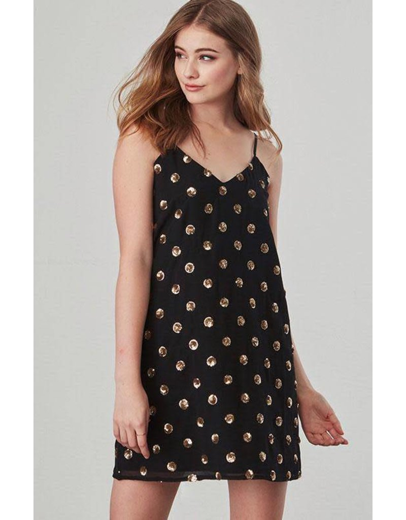 Jack by BB Dakota Hollis Sequin Slip Dress