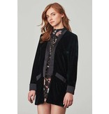 BB Dakota Curran Velvet Blazer