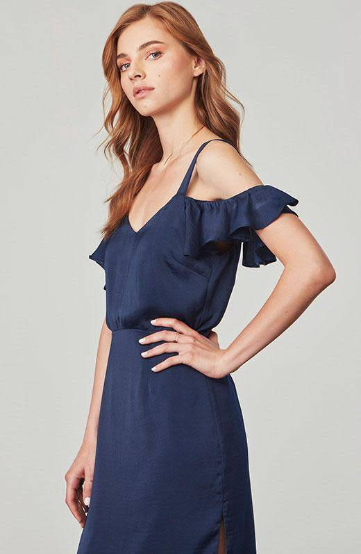BB Dakota Eileen Satin Dress