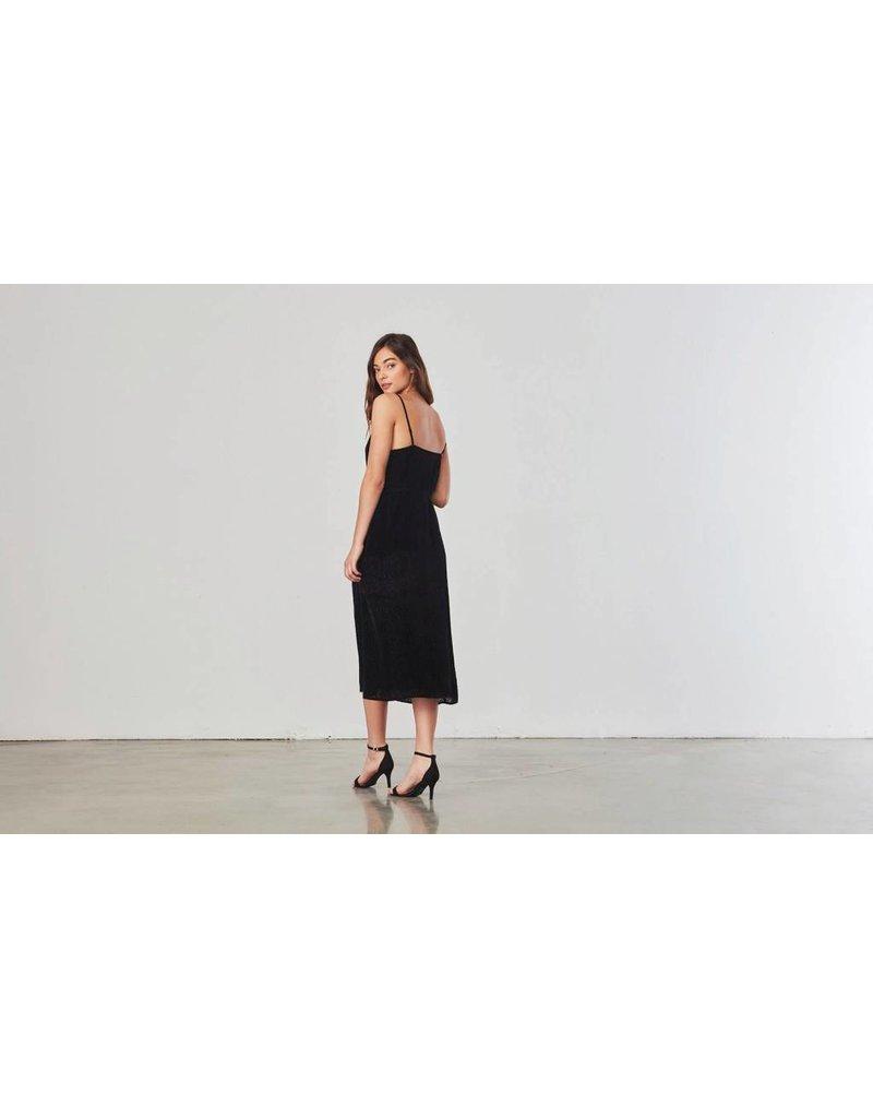 BB Dakota Alayna  Velvet Slip Dress