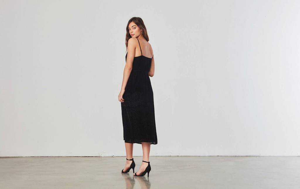 BB Dakota Alayna  Velvet Slip Dress