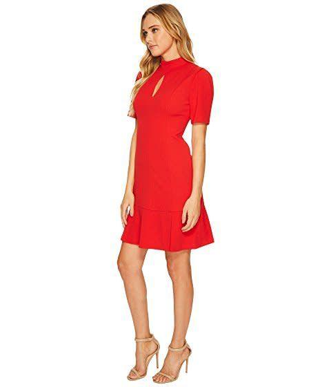 Donna Morgan Georgie Red Dress