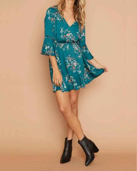 MINKPINK Secret Garden Plunge Dress