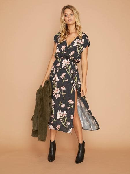 MINKPINK Nightshade Wrap Dress