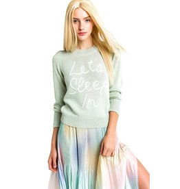 Wildfox Couture Sleep In Lou Sweater