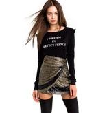 Wildfox Couture Parlez-Vous Medley Longsleeve
