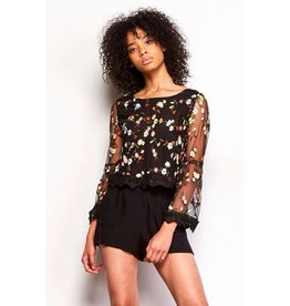Jack by BB Dakota Clemin Embroidered Top