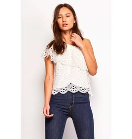 Jack by BB Dakota Lolita Eyelet Top