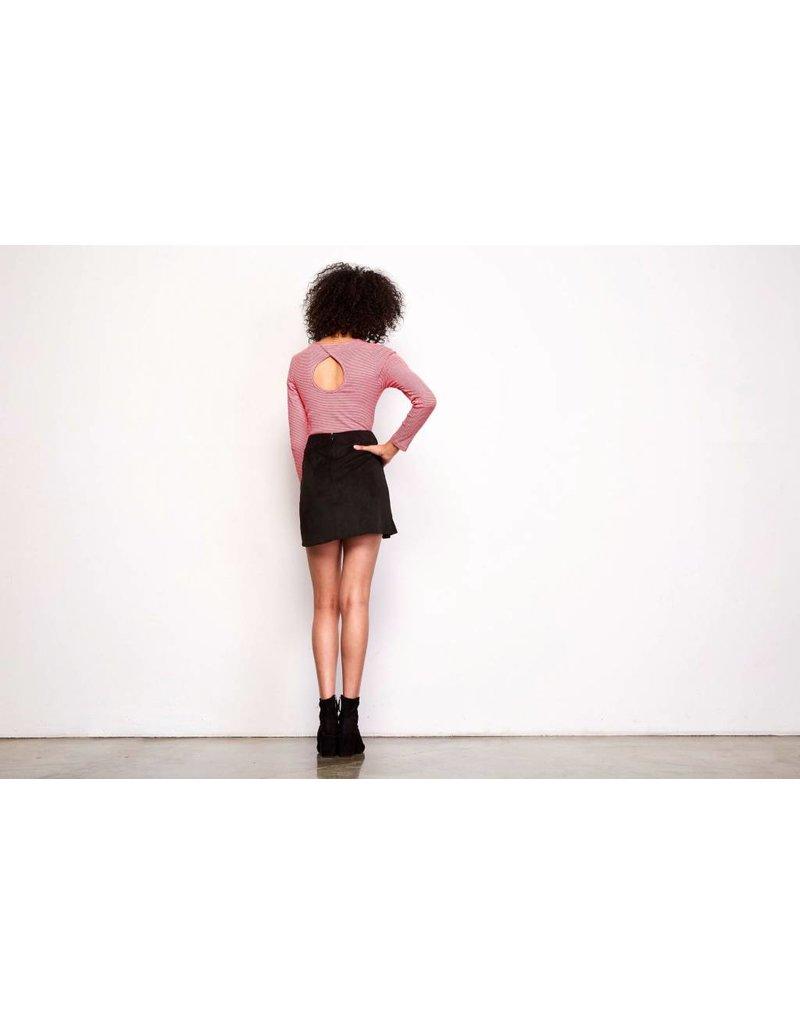 Jack by BB Dakota Khan Ruffle Skirt