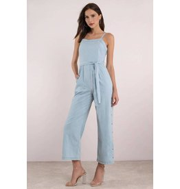 MINKPINK Street Snap Side Jumpsuit