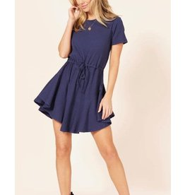 MINKPINK Romanticise Drawstring Dress