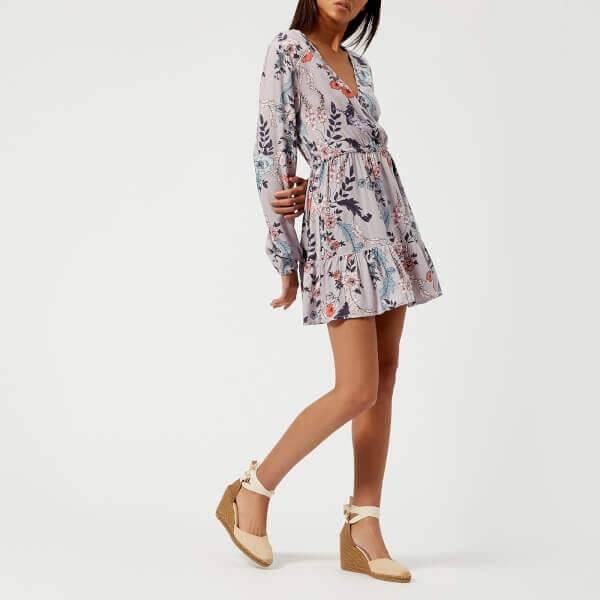 MINKPINK Lavender Love Long Sleeve Dress