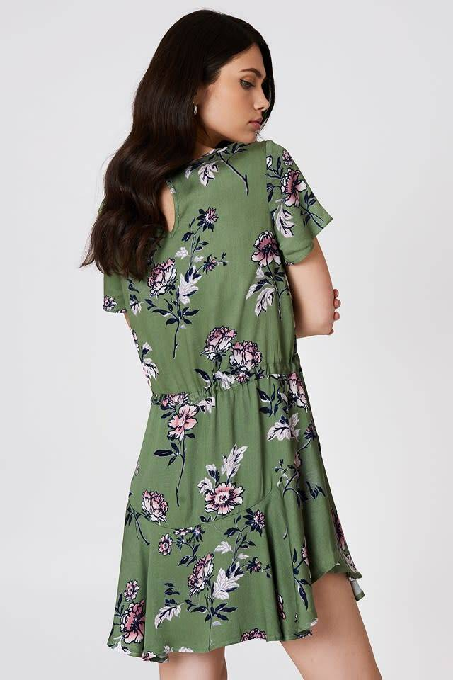 MINKPINK Wanderer Circle Frill Dress