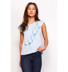 Jack by BB Dakota Aspen Chambray Top