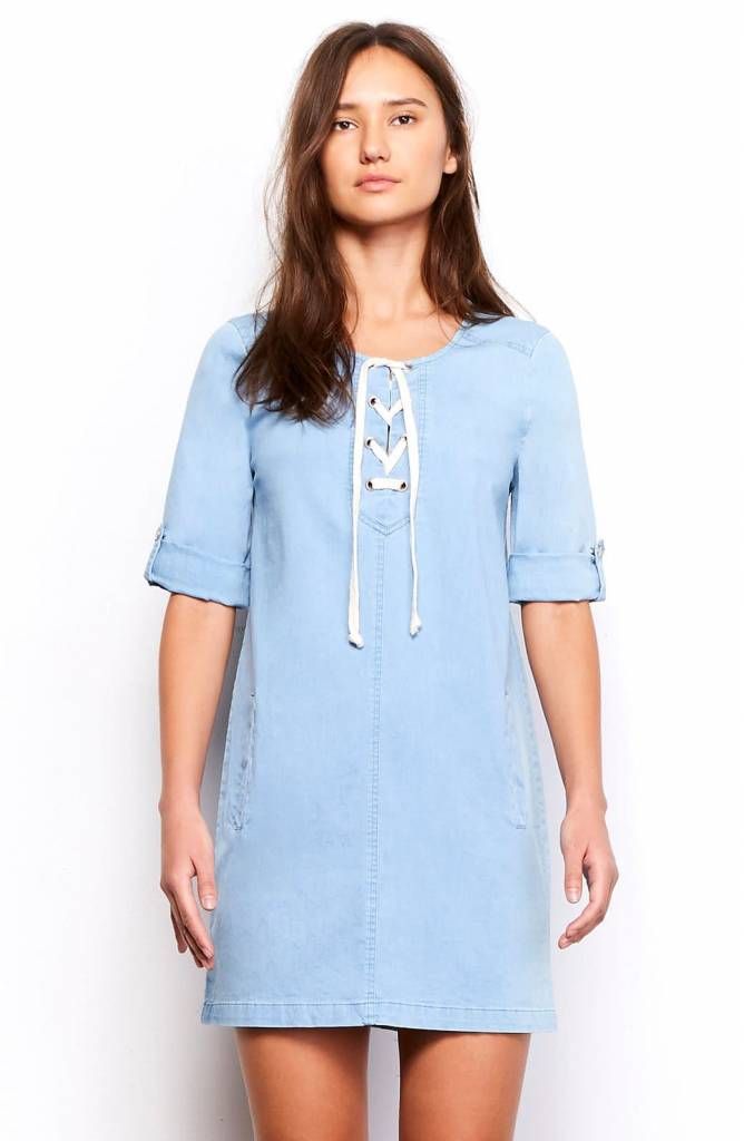 Jack by BB Dakota Minnie Chambray Dress
