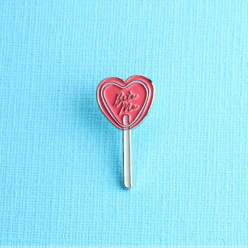 Punky Pins Bite Me Lollipop