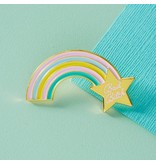 Punky Pins Bad Bitch Pastel Rainbow