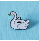 Punky Pins Poolside Inflatable Swan