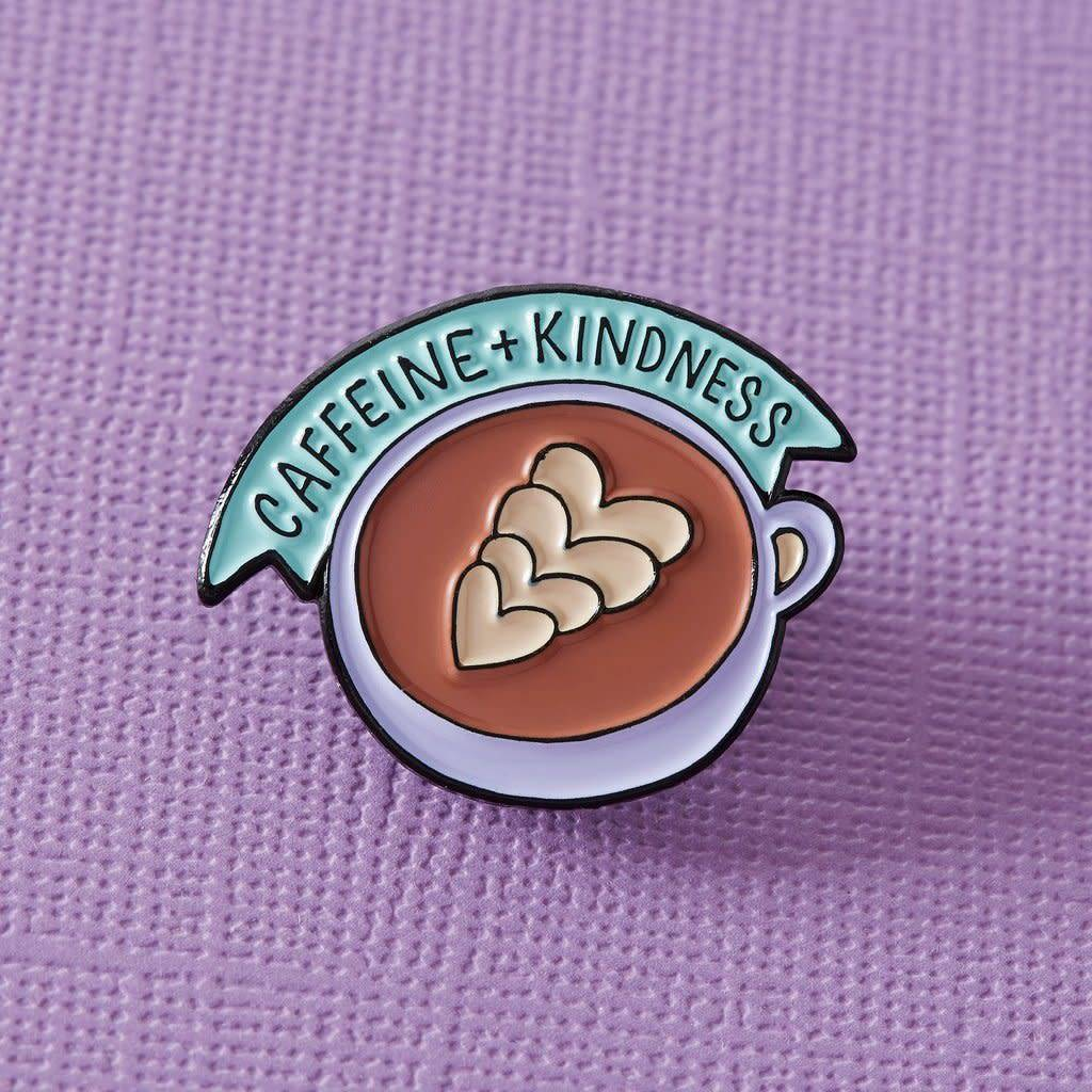 Punky Pins Caffeine and Kindness