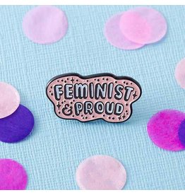 Punky Pins Feminist and Proud