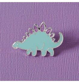 Punky Pins Green Dinosaur