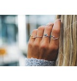 Pura Vida Silver Wave Ring