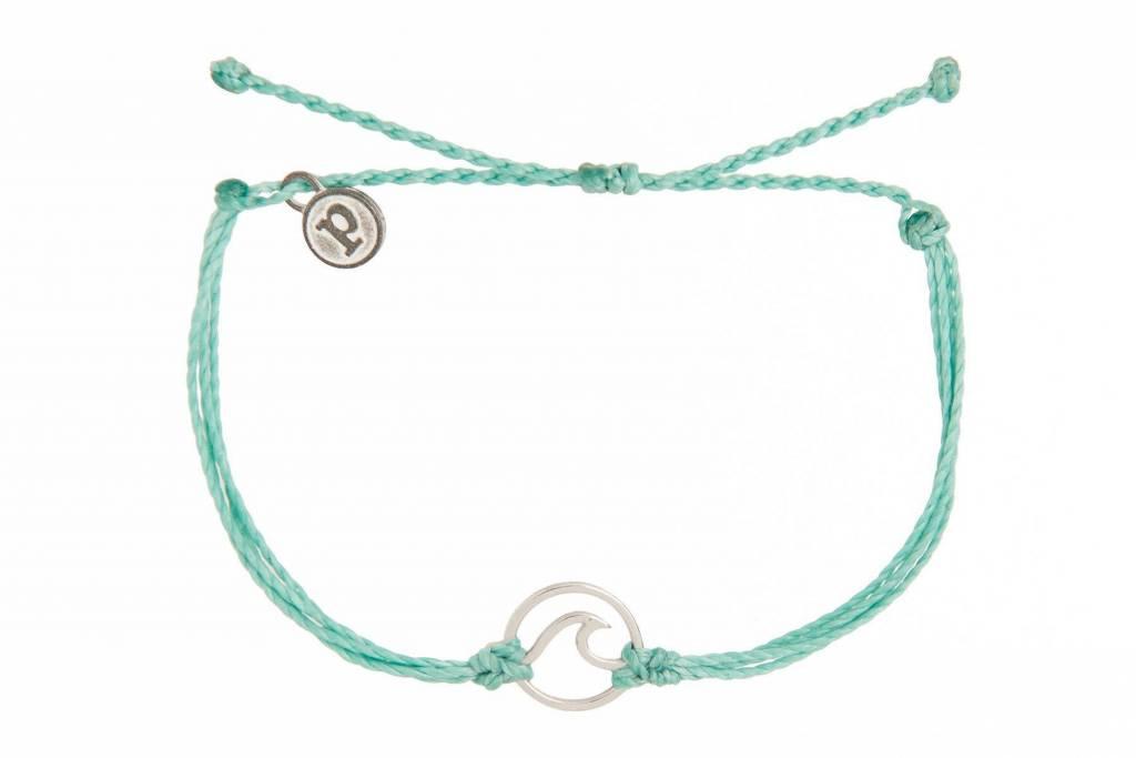 Pura Vida Silver Wave Bracelet