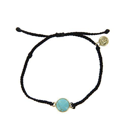 Pura Vida Gold Riveria Stone Bracelet
