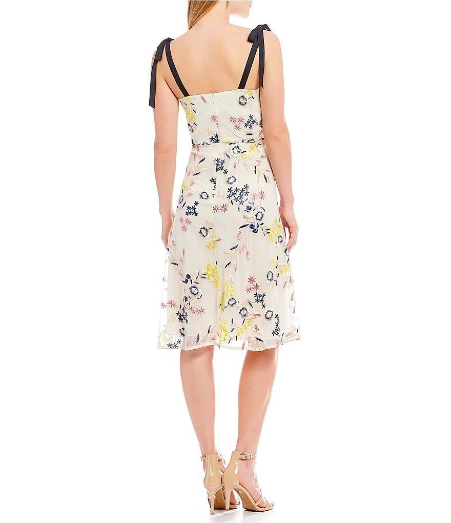 Donna Morgan Imogene Embroidered Dress
