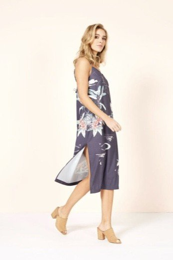 MINKPINK Madagascar Midi  Dress