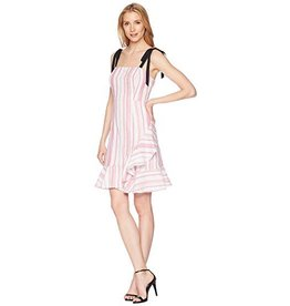 Donna Morgan Darcie Pink Stripe Dress