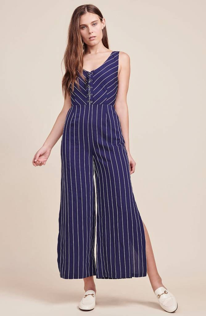 BB Dakota Scout Blue Jumpsuit
