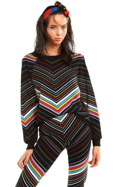 Wildfox Couture Island Chevron Sommers Sweater