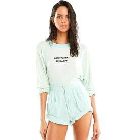 Wildfox Couture Be Happy Sommers Sweatshirt