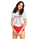 Wildfox Couture USA Bow Johny Ringer Tee